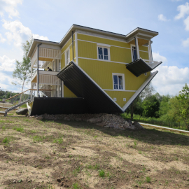 bf3461709db Construction of the Upside Down House in Tartu - project management and  owner supervision